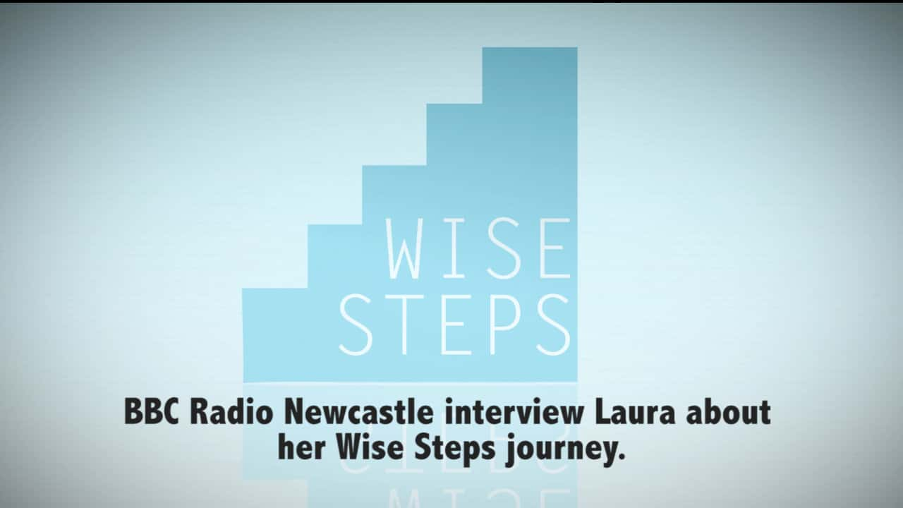 Self-taught special effects make-up artist Laura Cobley discusses her Wise Steps journey with BBC Newcastle