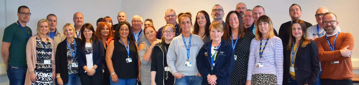 Our 250-strong staff team change lives across Scotland and the North East of England.