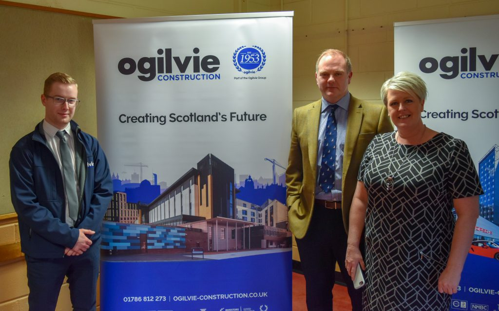 Ogilvie Construction at Tribal Home