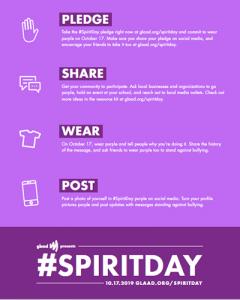 #SpiritDay get involved guide