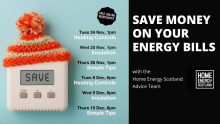 Details of online workshops to learn about reducing home energy use, cost and carbon footprint.
